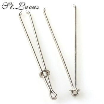 Nuevo 5 unids/lote banda elástica/cuerda con guía para aprender a enhebrar con dispositivo herramienta aguja de coser ropa accesorio DIY