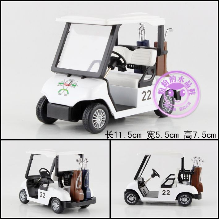 Super 1pc 11.5cm delicate Classical Golf ball park creative simulation collect model alloy car home decoration gift toy
