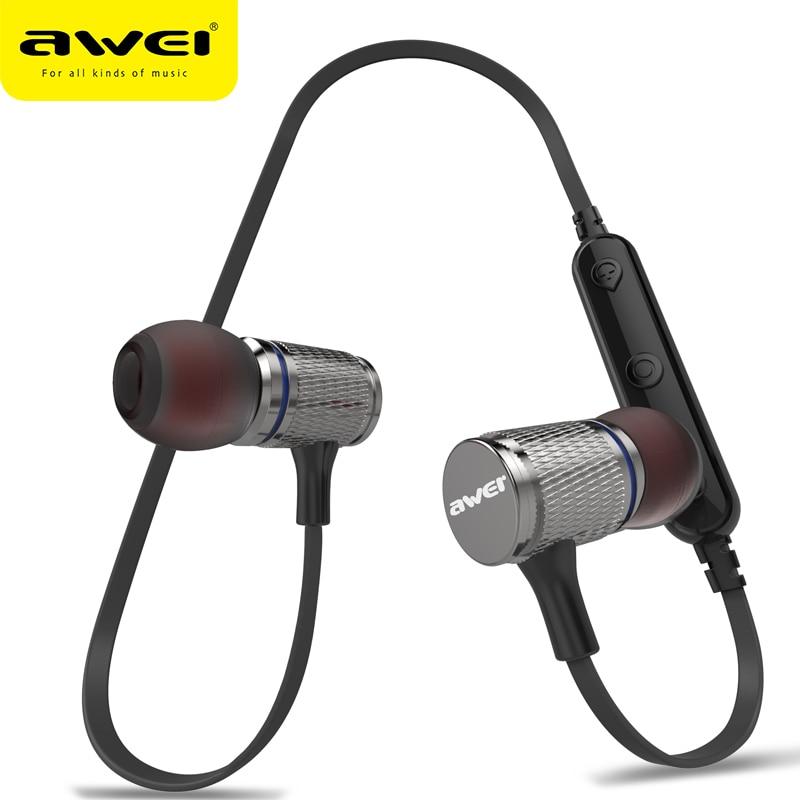 AWEI T12 Bluetooth Kopfhörer Blutooth Kopfhörer Drahtlose Kopfhörer Auriculares kulakl k Schnurlose Hörer Casque Ohrhörer Für Telefon