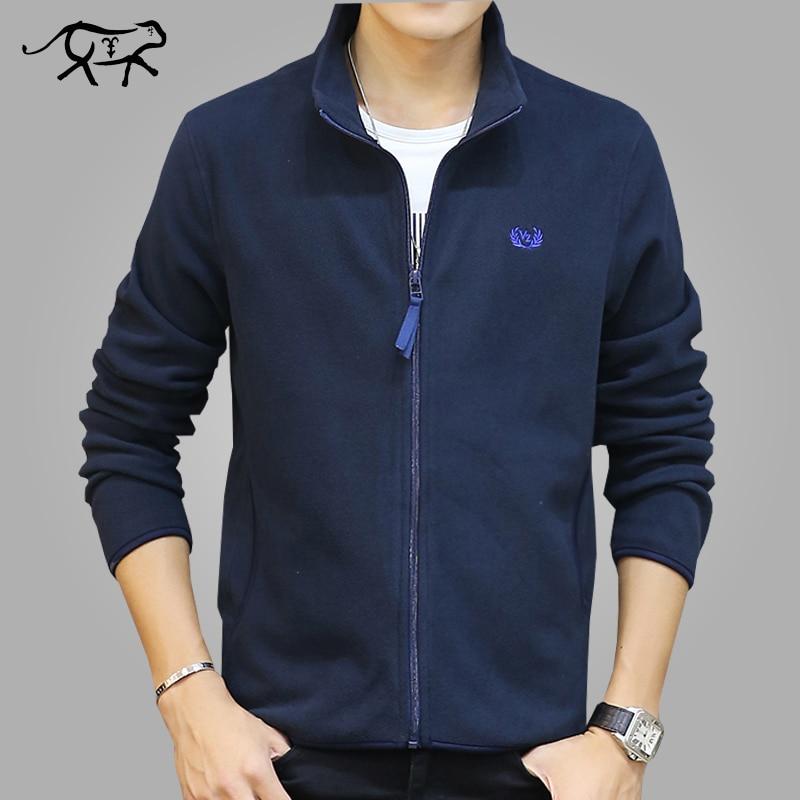 Brand Clothing Jacket Men Fashion Mens Spring Jacket Casual Slim Fit Outerwear Fleece Men S Jackets