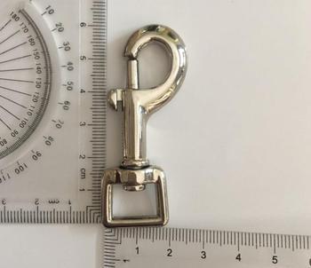 1/2 inch Nickle trigger snap for bag, handbag hook swivel clasp Dog clip Hook Metal Clip Buckle , 100pcs/lot