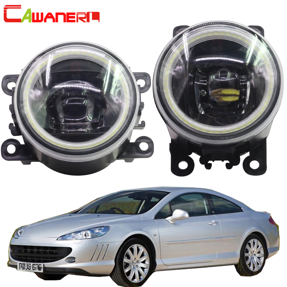 Cawanerl For Peugeot 407 Coupe 6C 2005 2006 2007 2008 2009 2010 2011 Car LED Fog
