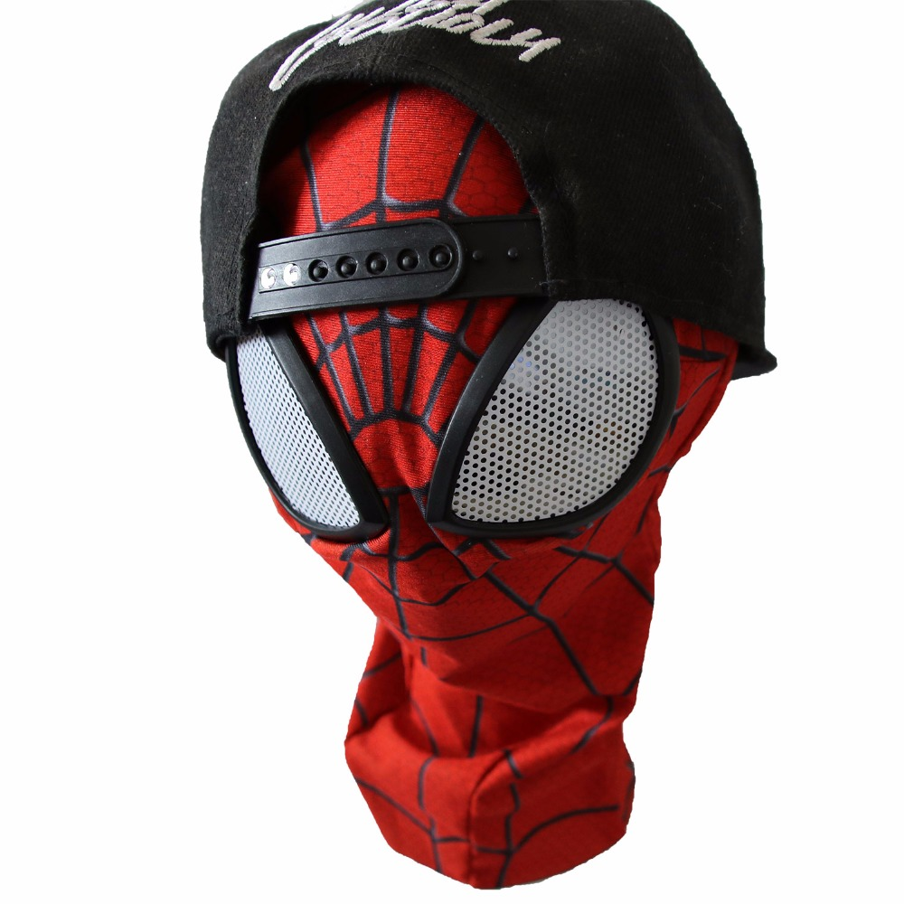 Amazing Spiderman Mask Lenses Adult Unisex Halloween Party Accessory Masque Spider Man Cosplay Masks Drop shipping in Boys Costume Accessories from Novelty Special Use