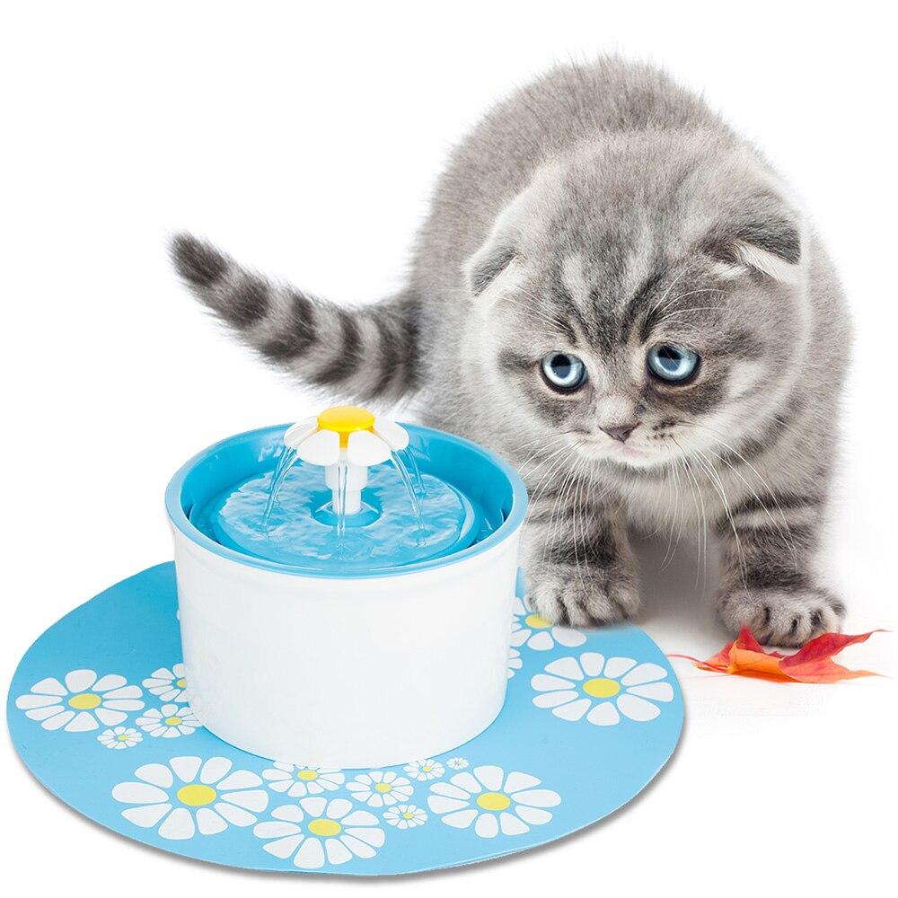 Otomatis Memberi Makan Hewan Peliharaan Hijau Bunga Anjing Kucing Pembersih Kaca Window Brush Dengan Semprot Removable Hhm176 Air Mancur Listrik Untuk Bowl Minum Minuman Dish Penyaring Di Dari