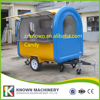 Hot Sale Chinese Food Catering Trucks Kitchen Trailer Mobile Fast Food Cart