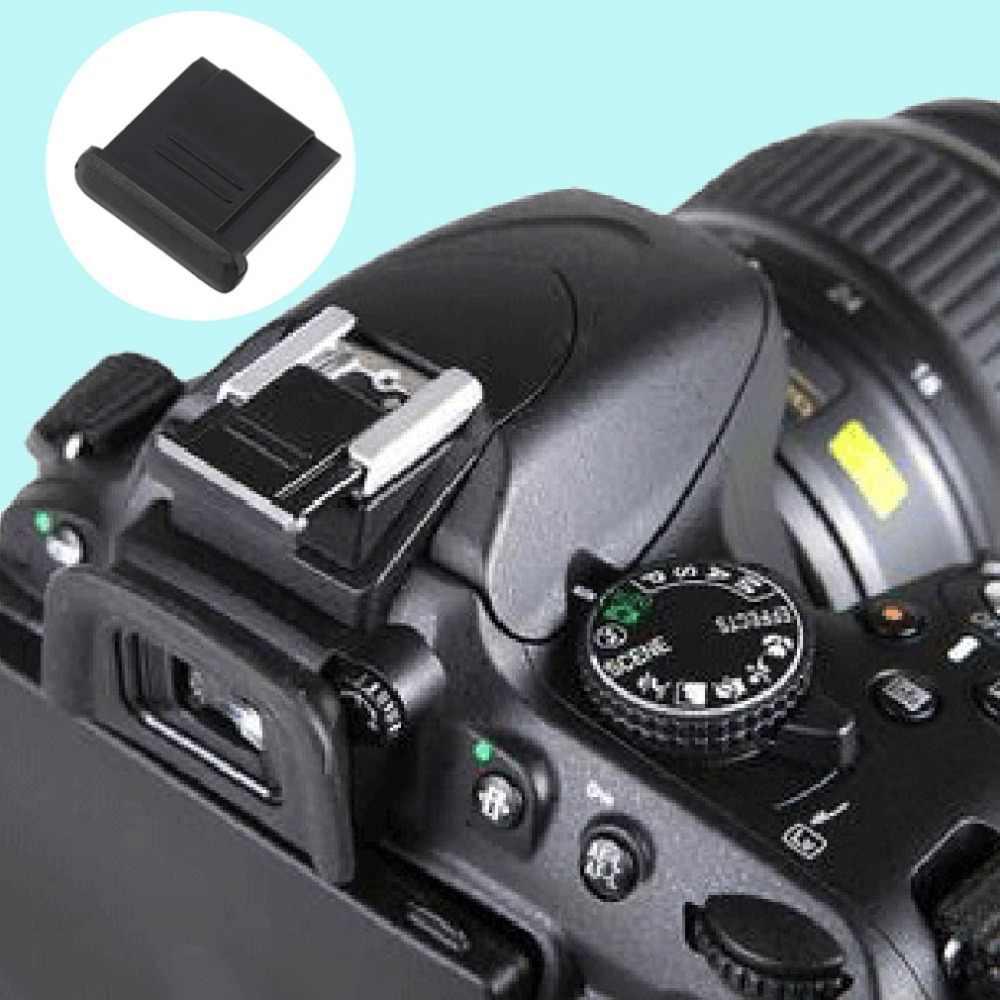 Protetor de Flash Hot Shoe Cap Capa Protetora Para Nikon BS-1 D90 D200 D300 BS-1 DSLR Camera Atacado