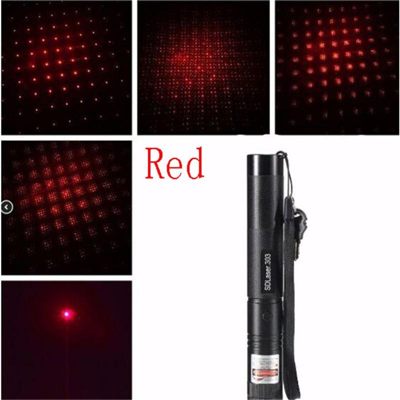 10000m Powerful Green Laser 303 Sight Metal Red Laser Pointer Adjustable Focus Portable Multiple Patterns Blue Lazer Pointer (4)