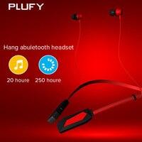 PLUFY P2 spor bluetooth kulaklık kablosuz koşu boyun kulak kulaklıklar