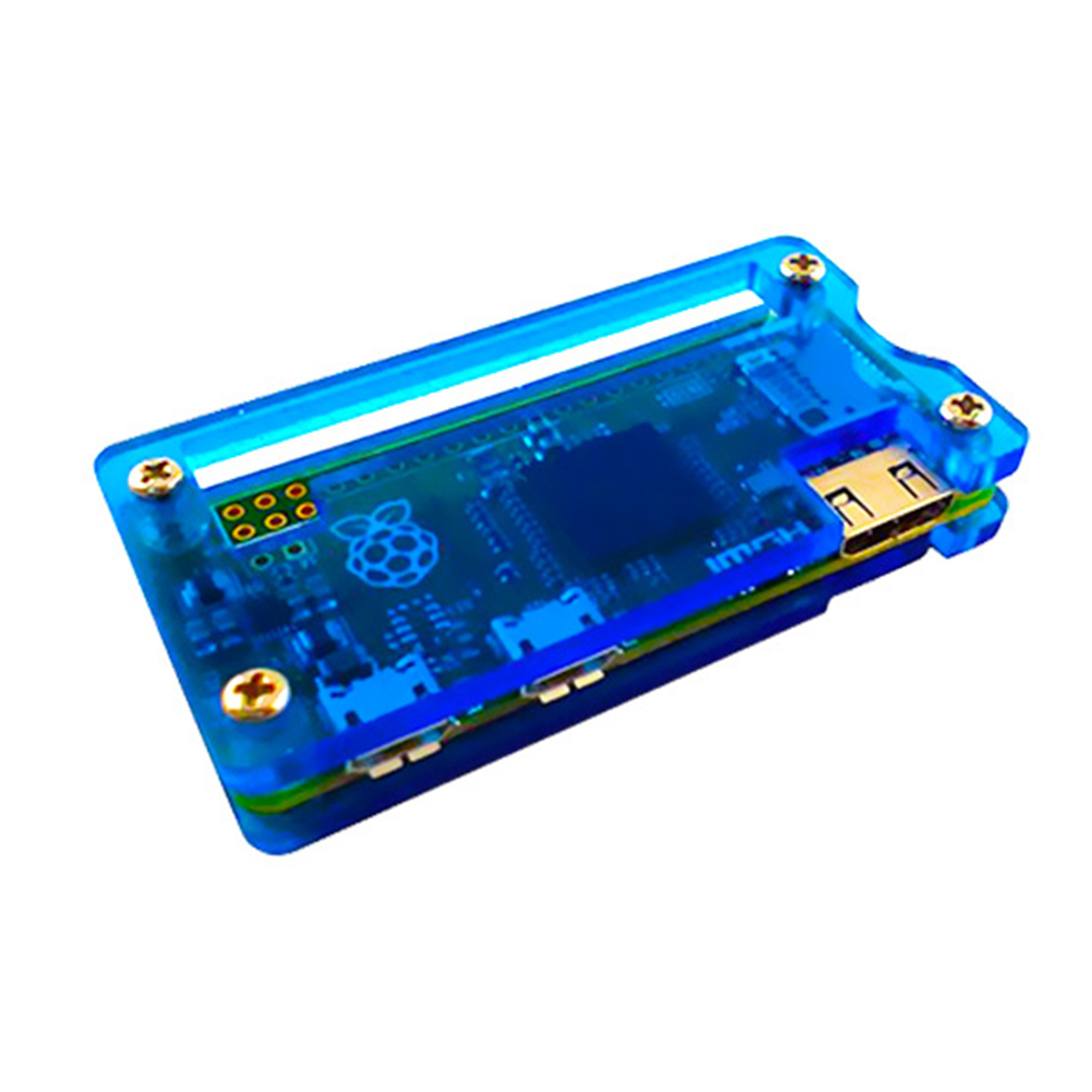 Acrylic Accessories Shell Protective Case Easy Install Durable Transparent Housing Professional Cover For Raspberry Pi Zero