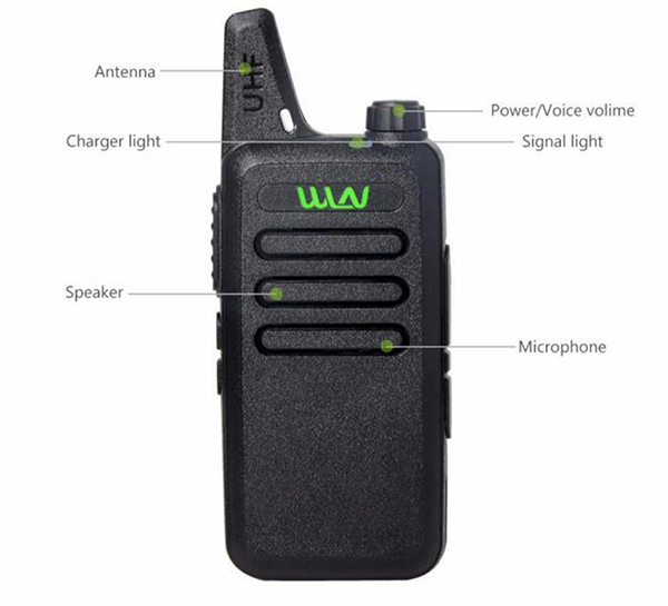 6pcs new WLN KD C1 Mini Wiress Walkie Talkie UHF Handheld Two Way Radio station Communicator Transceiver ham radio-in Walkie Talkie from Cellphones & Telecommunications    2