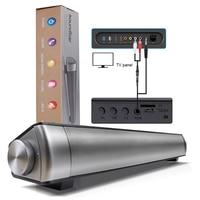 Draagbare Home Theater Draadloze TV Speaker Klankkast Subwoofer Super Bass Bluetooth Speaker Voor Computer TV PC Telefoon Speakers