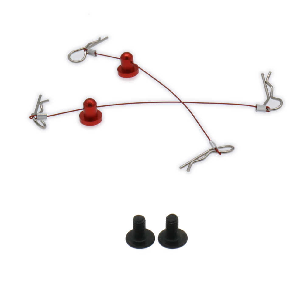 Vehicle Hsp Arram Traxxas Axial Ecx 100mm 160mm Anti-Lost Body Shell Body Clips With Screw Fixation For Rc Model Car