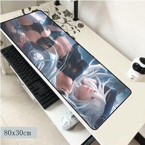 Image 1 - NieR Automata maus pad 800x300x3mm maus matte laptop große padmouse notbook computer gaming mauspad Beliebte gamer spielen matten