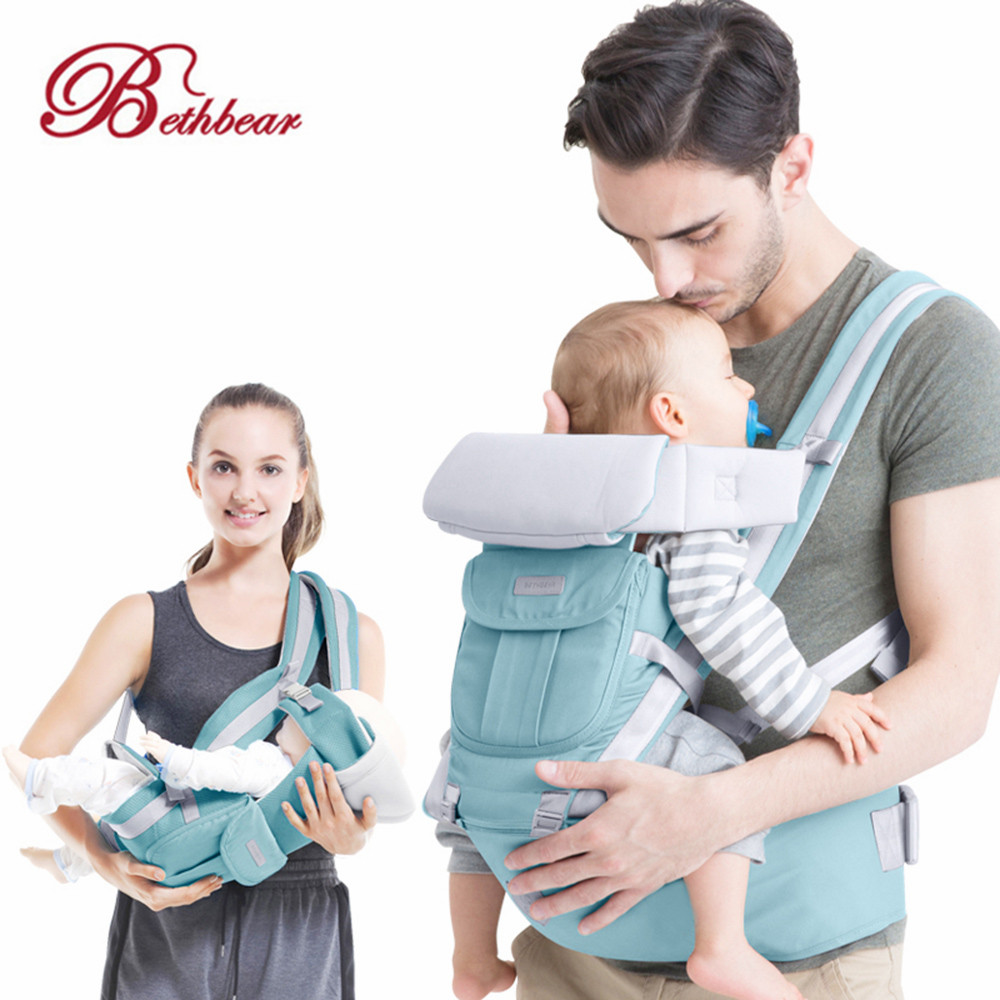 Backpacks & Carriers Activity & Gear Beth Bear Baby Carrier 4in 1 Hipseat Mochila Infantil Canguru Baby Backpacks Sling Carriers Ergonomic Mochila Newborn 0-36 Month In Pain