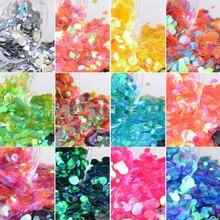 Multi-colors  Nail Art Flake 1set/12pcs 36g For Decoration Glitter Powder DIY Design PB32