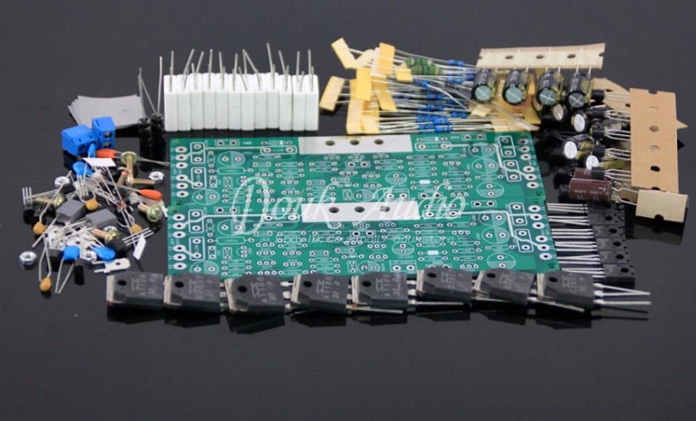 Stéréo Audio Hifi Classe AB Amplificateur de Puissance Conseil DIY Kit 200 w deux canal 2.0