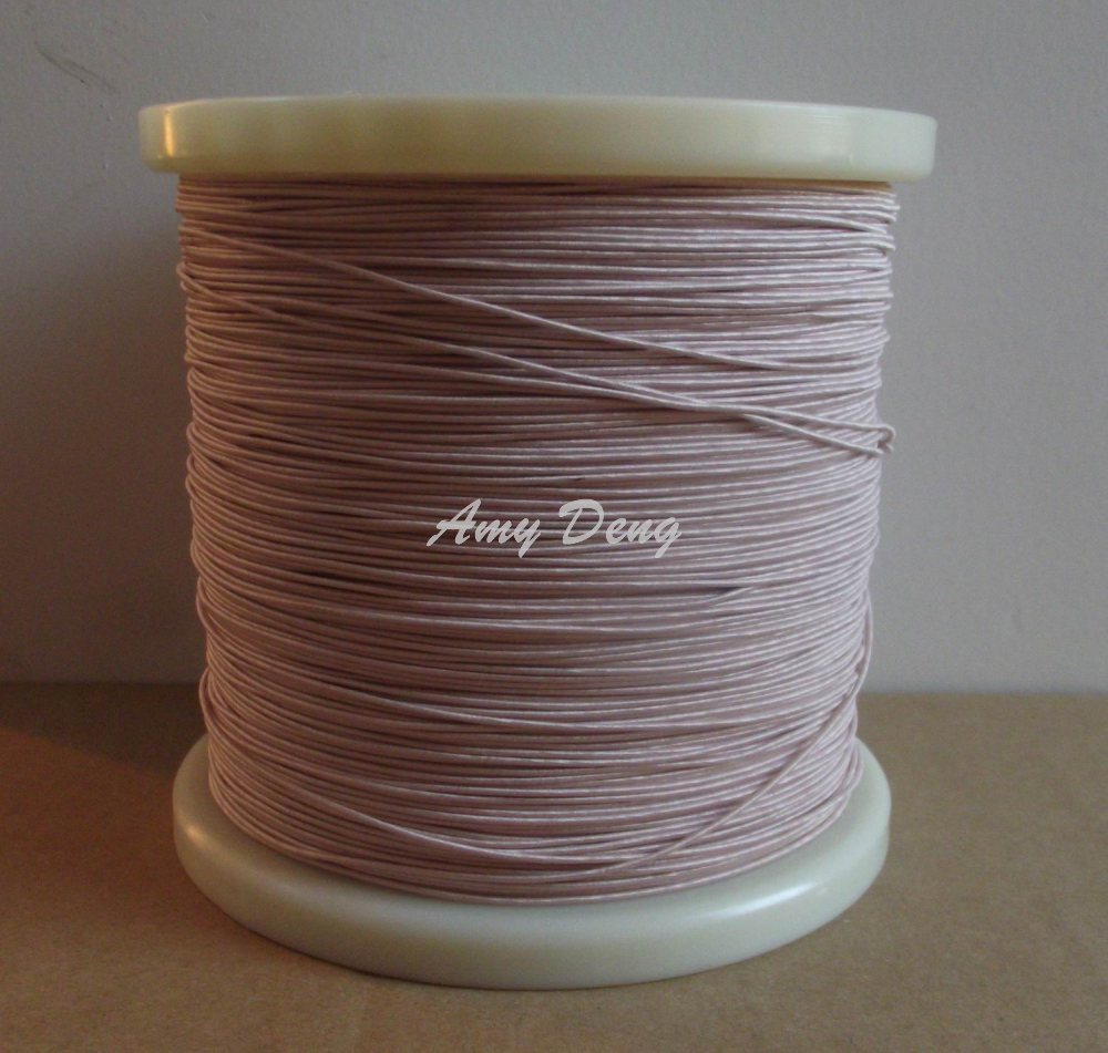 100 Meters/lot  0.1X45 High Frequency Transformer New Mul Strand Copper Wire Polyester Envelope By The Meter