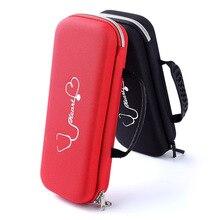 Чехол-органайзер для переноски, сумка для хранения, ручка для записи звука для медсестры, стетоскоп/жесткий диск/USB кабель