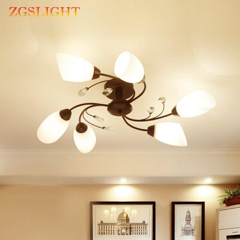 Современная люстра вращающаяся цветочное освещение Светодиодный светильник кофейное Кафе лампа из нержавеющей стали Calla Lily светильник бел