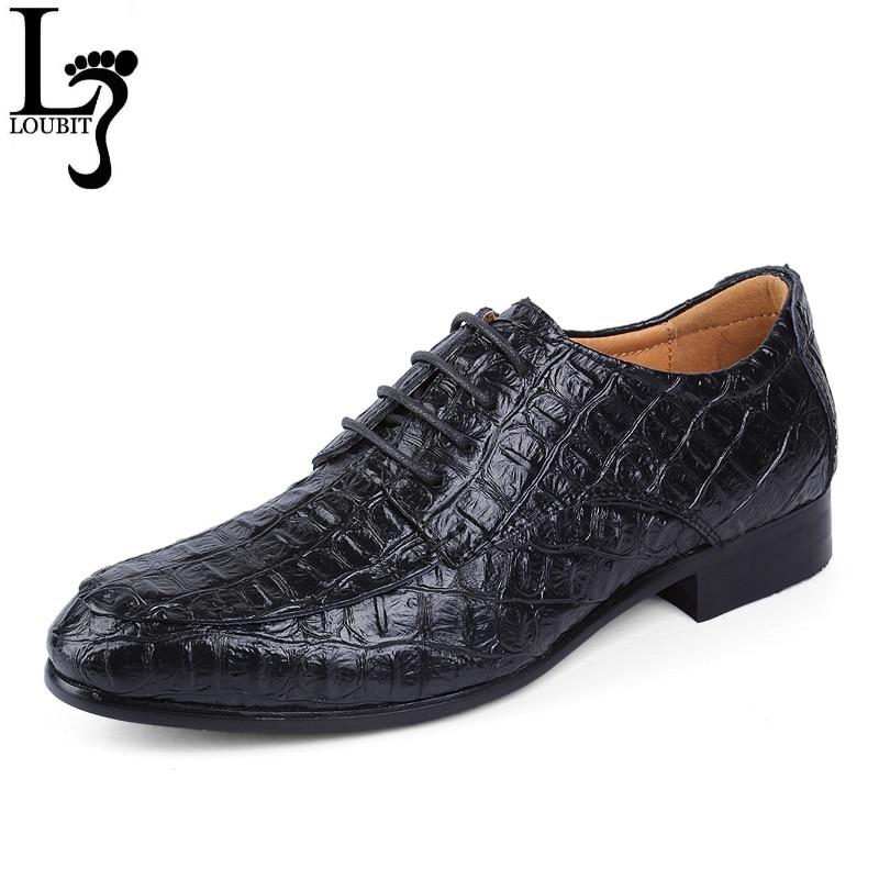 Men s Dress Shoes Wedding Shoes Brand Genuine Leather Oxford Shoes For Men Business Flat Men