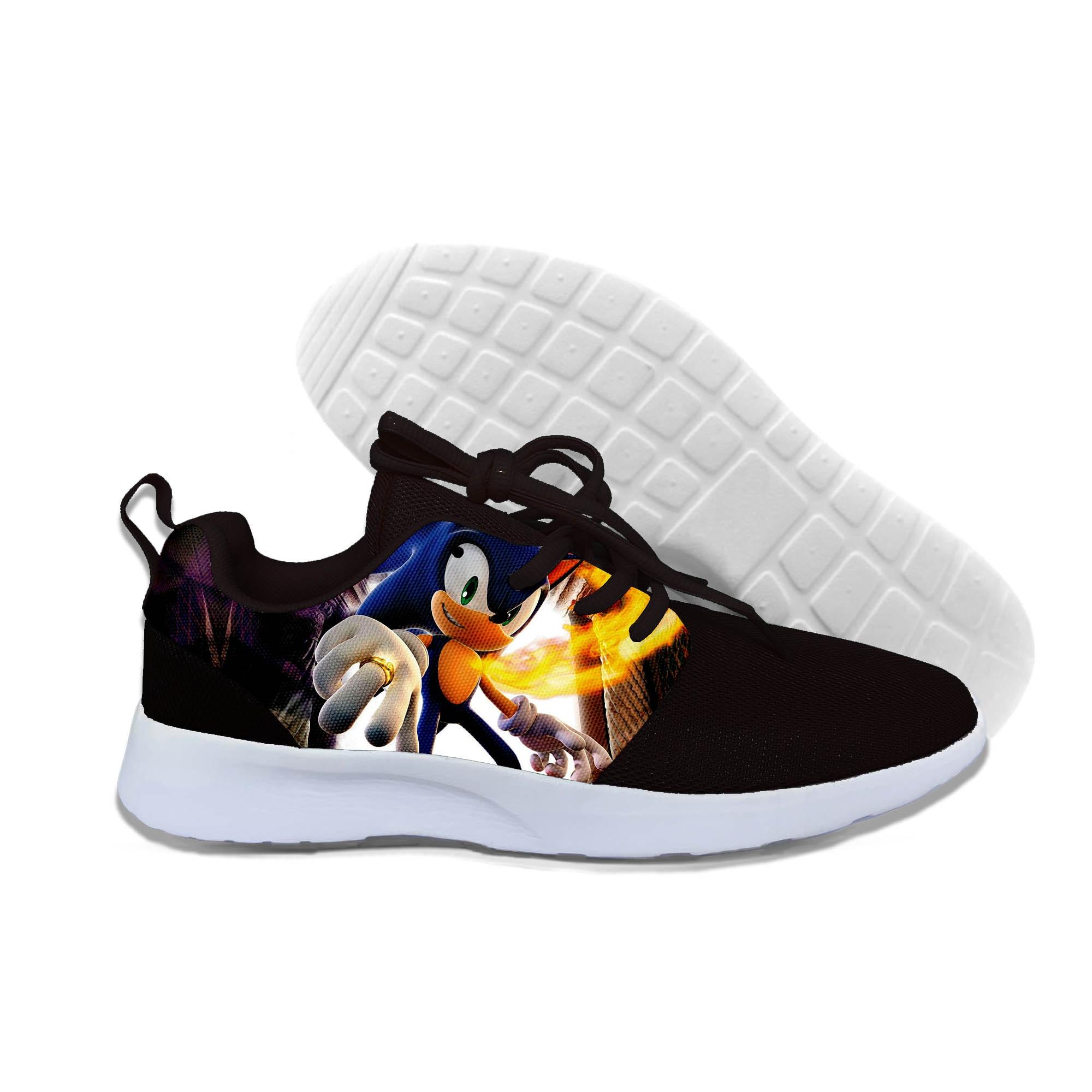 2019 hot fashion Sonic le hérisson 3D chaussures décontractées pour hommes/femmes haute qualité Harajuku impression 3D Sonic les baskets hérisson