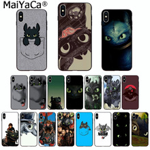 MaiYaCa Cute Phone Accessories Toothless Train Your Dragon for Apple iPhone 8 7