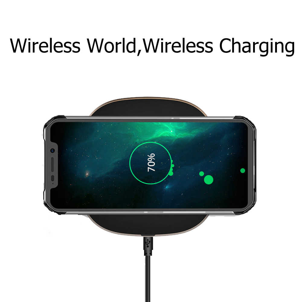 Blackview a BV9600 Pro 6,21 pulgadas Smartphone resistente al agua Helio P60 6 GB + 128 GB 19:9 FHD 5580 mAh Android 8,1 NFC Dual SIM teléfono móvil