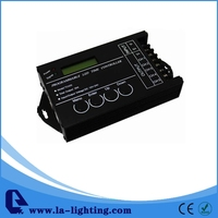 Free  Shipping DC12V/Dc24V 5 Channels Programmable Time Controller For LED Strip