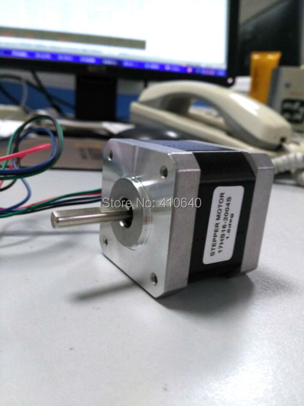 5 pcs Per Lot Nema17 Stepper Motor 17HS4401 17HS16-2004S L40 mm 1.8deg 1.7A 40 N.cm 4 Wires Used for 3D Printer FREE SHIPPING free shipping 5pcs per lot step motor 17hs19 2004s l48 mm nema17 with 1 8deg 2a 59n cm and bipolar 4 wire high torque type