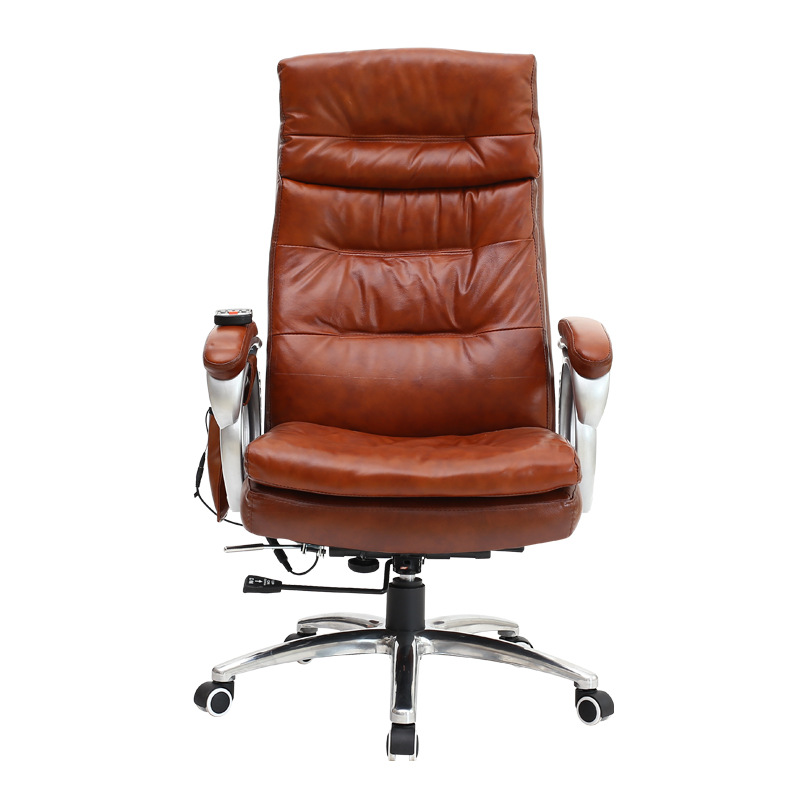 ergonomic office chair with massage function high back desk chair wadjustable height - Ergonomic Desk Chair