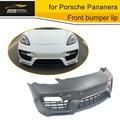 FRP Grey Primer Front Bumper Fiberglass fit for Porsche Pananera Car Accessories