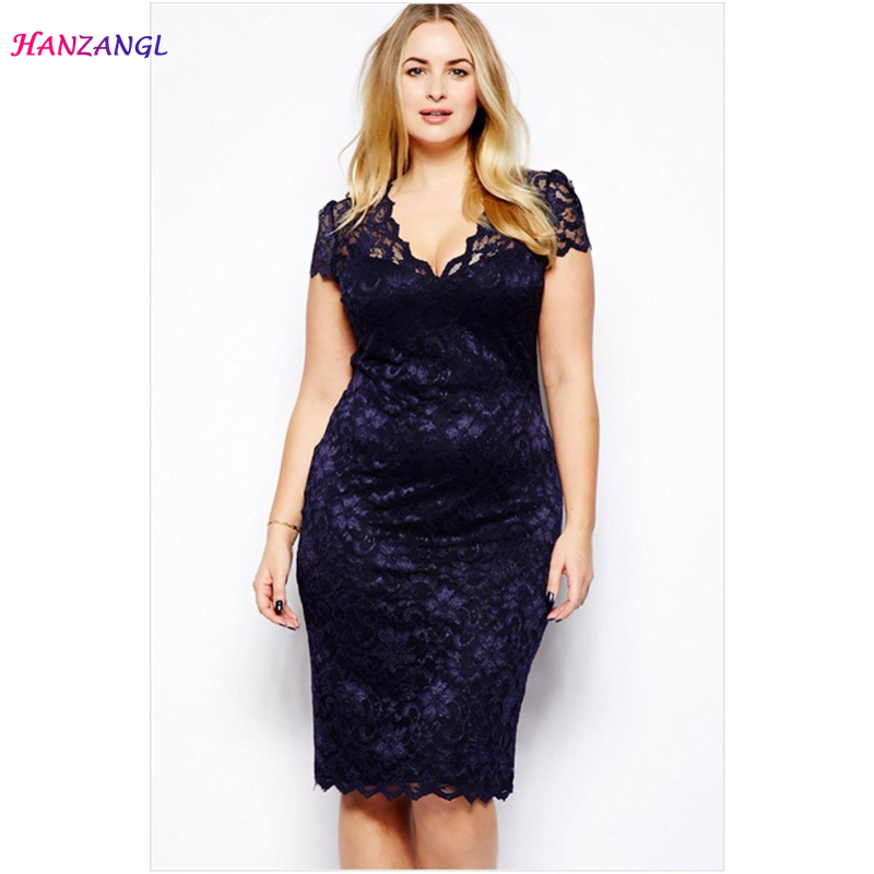 Aliexpress.com   Buy HANZANGL Summer Dress Women Elegant Sexy Navy ... 73eb88cb4466