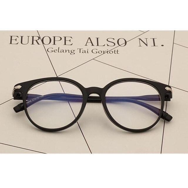 def0828fef505 Quadros de Óculos Vintage Preto Fosco Completo Aro Óculos Optical Óculos  Óculos Óculos de Miopia Rx