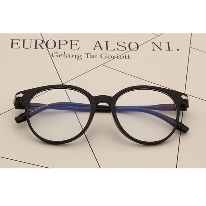 Vintage Eyeglasses Frames Matte Black Full Rim Eye Glasses Optical Spectacles Eyewear Myopia Rx able