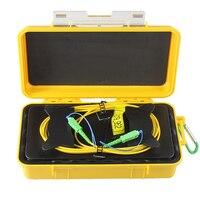 SC/APC SC/APC OTDR мертвая зона eliminator, волокна кольца, волоконно оптический рефлектометр кабель старт 2000 м SM 1310/1550nm Бесплатная доставка