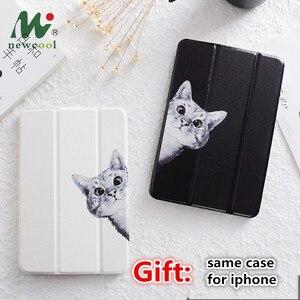 Image 1 - Czarny kot przerzuć pokrywa dla iPad Pro 9.7 przez 11 10.5 12.9 10.2 2020 Mini 2 3 4 5 2019 Tablet etui dla nowego ipada 9.7 6th 2017 2018