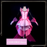 Anime! Mermaid Melody Pichi Pichi Pitch Nanami Ruchia Gorgeous Uniform Cosplay Costume Party Lolita Dress Free Shipping