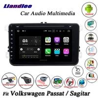 Liandlee Car Android System For Volkswagen VW Tiguan Touran Radio CD DVD Player GPS Nav Navi