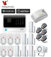 Freeship By DHL Home Office PIR GSM Alarm System Home Safety Gas Sensor English Russian Spansih