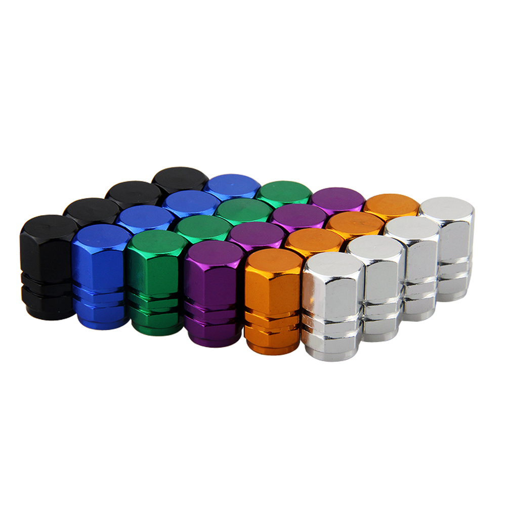 4pcs Universal Aluminum Car Wheel Tire Valve Caps For Bmw E46 Ford Focus 2 Volkswagen Passat B6 Peugeot 206 Audi A3 Mercedes Kia