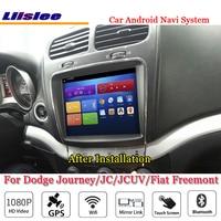 Liislee для Dodge Journey/JC/JCUV/для Fiat Freemont автомобиля Android gps навигатор Радио стерео экран мультимедиа системы