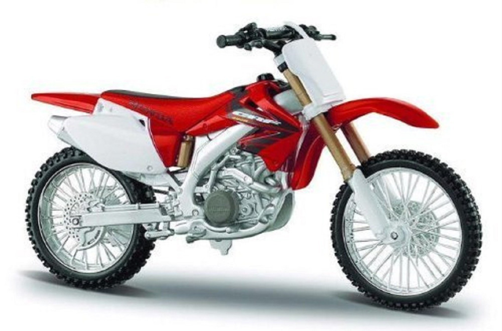 Maisto 1:18 Honda CRF 450R MOTORCYCLE BIKE Model FREE SHIPPING NEW IN BOX