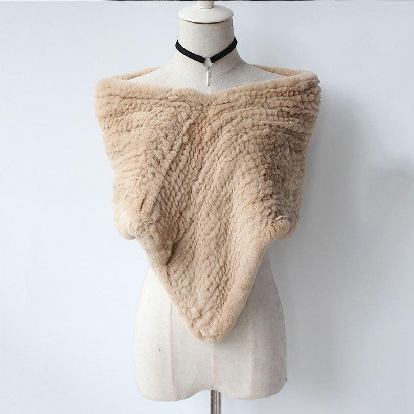 60/80*55 cm Pashmina for women   Scarves     Wraps   fur Shawl 2018 Winter 100% Natural Fur Scarfs Fashion Coat Sweater   Scarves   Thick
