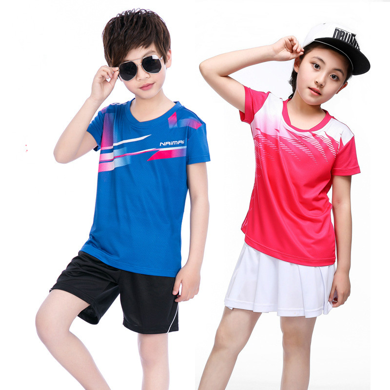 Skirt T-Shirt Tennis-Clothes Badminton Sports-Jersey Racing-Suit Quick-Dry Breathable title=
