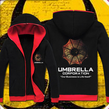 Resident Evil Umbrella Corp. Hoodie Cosplay Costume