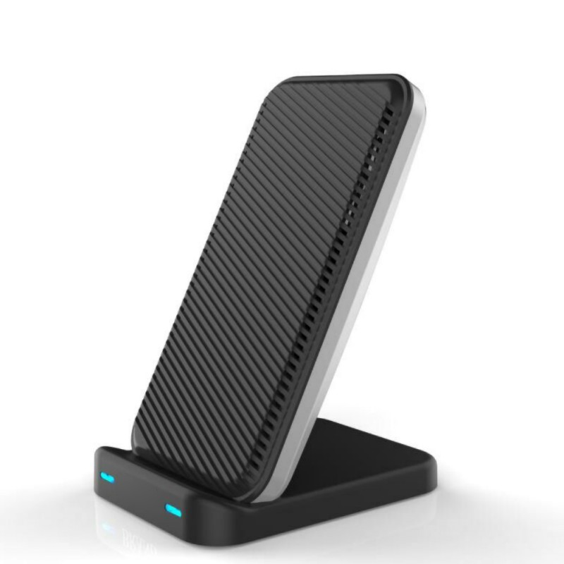 Intelligent Cooling Wireless Phone Fast Charging Stand Desktop Cellphone Charger Holder For IPhone XS Huawei P30 Samsung S9