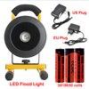 TSLEEN 2018 New LED Flood Light With 18650 Battery LED Outdoor Lighting 110V 220V 240V Waterproof