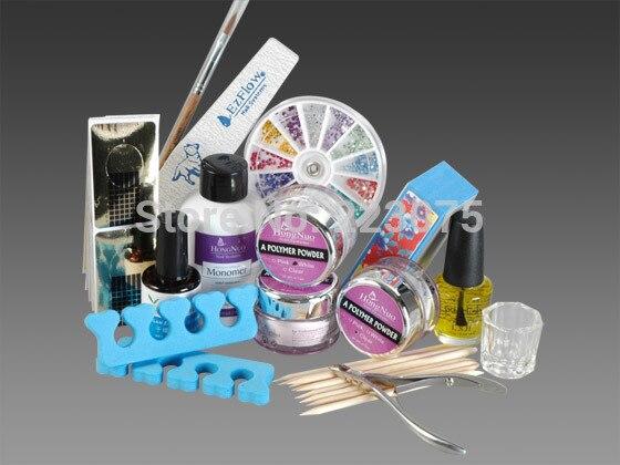 ФОТО Hot 15 in 1 Professional Acrylic Nail Art Kits