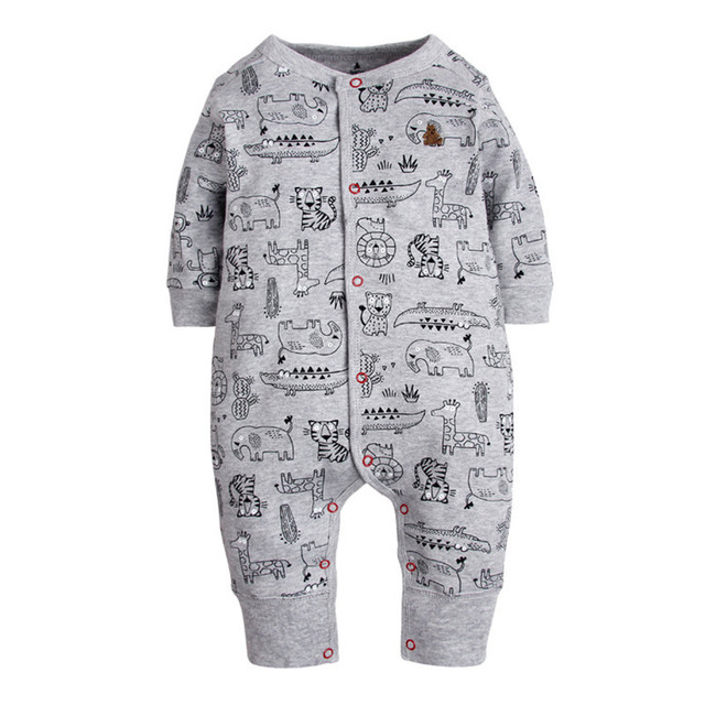 458b50d97 2018 New Fashion Newborn Baby Ropmer Cartoon Car Long Sleeve Baby ...