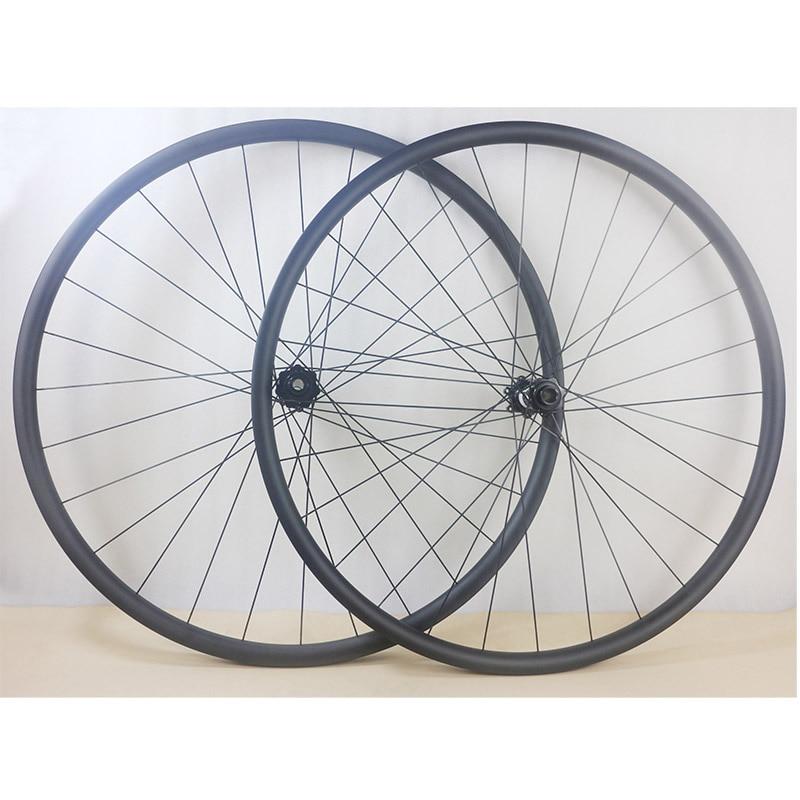 29er Carbon Asymmetric MTB Rim Mountain Bike Rim 30mm wide Carbon Rim Offset Rim